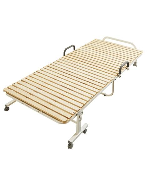 折りたたみ桐すのこベッド すのこベッド・畳ベッド, Beds(ニッセン、nissen)