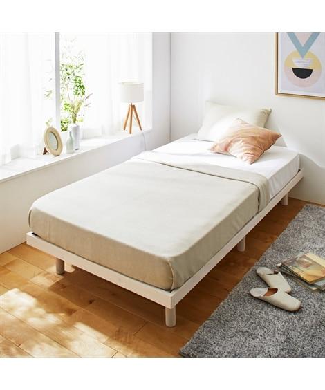 高さが変えられる天然木パイン材すのこベッド すのこベッド・畳ベッド, Beds(ニッセン、nissen)