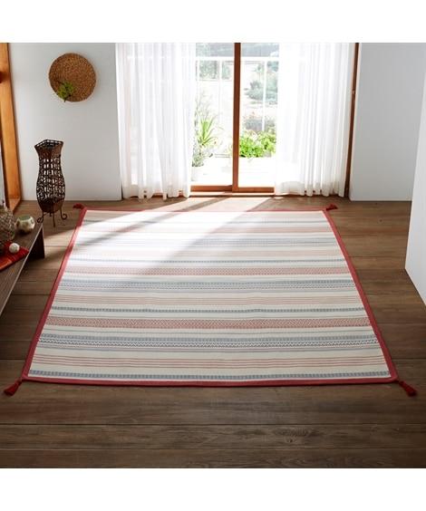 インド綿デザインラグ ラグ