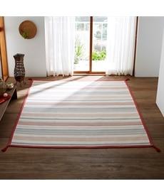 インド綿デザインラグ ラグの小イメージ