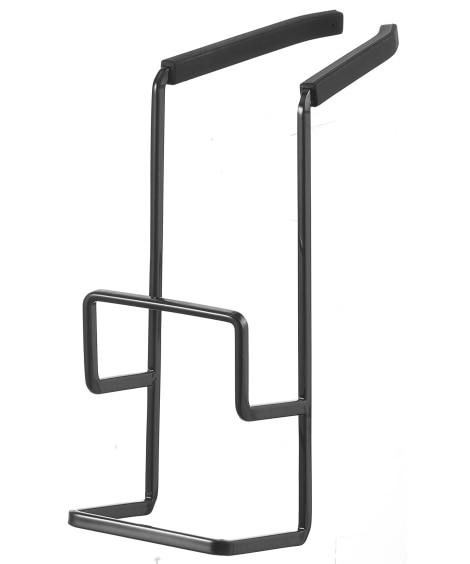 【TOWER】蛇口にかけるスポンジホルダー ダブル キッチン 水切りカゴ・ラック・吸水マット(ニッセン、nissen)