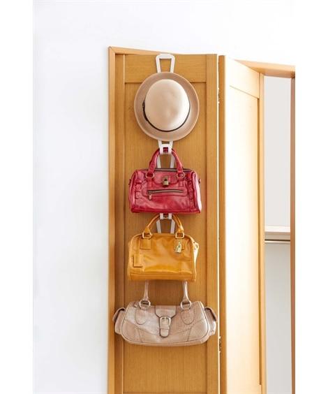 スペースを有効活用できるジョイントハンガー 衣装ケース・プラスチックケース・押入収納, Closet storage(ニッセン、nissen)