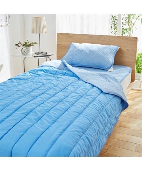 接触冷感。吸汗。抗菌。制菌。消臭5つの機能付き敷きパッド。枕...
