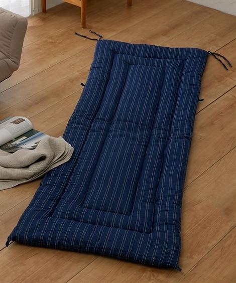 綿100%しじら織り素材のごろ寝布団 敷布団, Beddin...