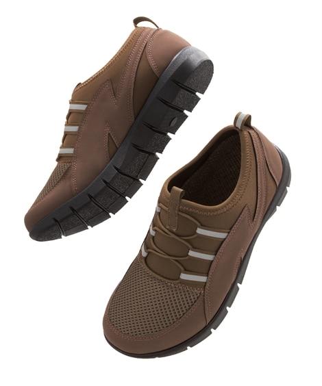 <ニッセン> 歩きたくなるウォーキングシューズ シューズ(フラットシューズ) Shoes
