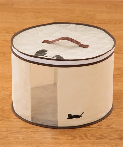 炭消臭帽子収納袋 衣類カバー・圧縮袋(ニッセン、nissen...