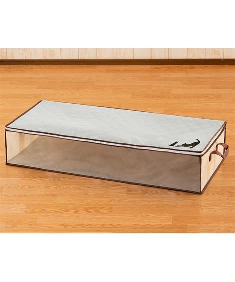 炭消臭ベッド下収納袋 衣類カバー・圧縮袋(ニッセン、nissen)