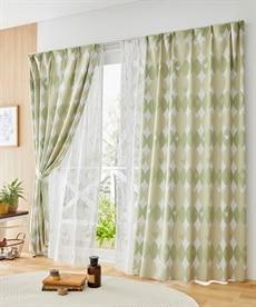 <ニッセン>ラプンツェル柄遮光カーテン&レース4枚セット カーテン&レースセット Curtains sheer curtains net curtains(ニッセン、nissen) 2