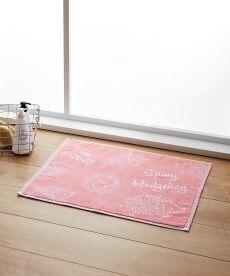 ハリネズミ柄 タオル地バスマット バスマットの商品画像
