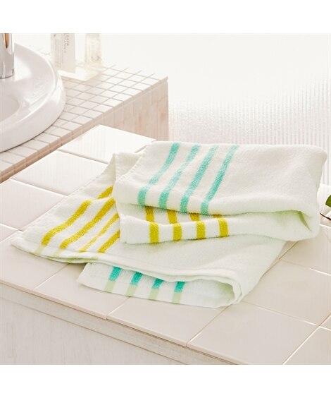 ランドリー 抗菌加工 ミニバスタオル バスタオル, Towels(ニッセン、nissen)