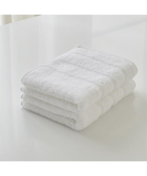 エーゲ海コットンのフェイスタオル同色2枚セット フェイスタオル, Towels(ニッセン、nissen)