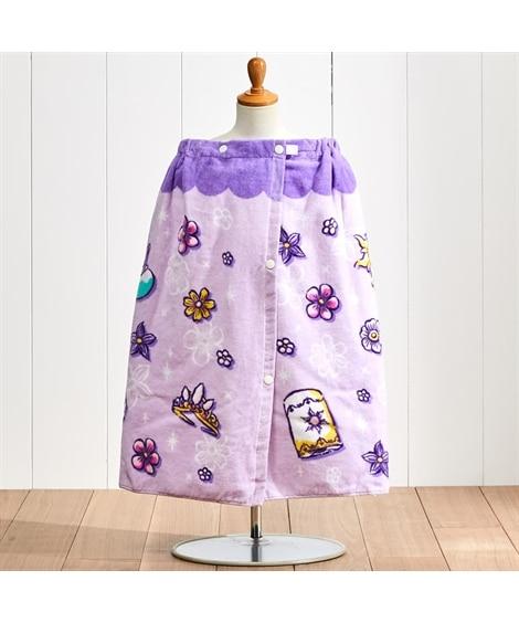ディズニープリンセス ラプンツェル 60cm丈ラップタオル タオル, Towels(ニッセン、nissen)