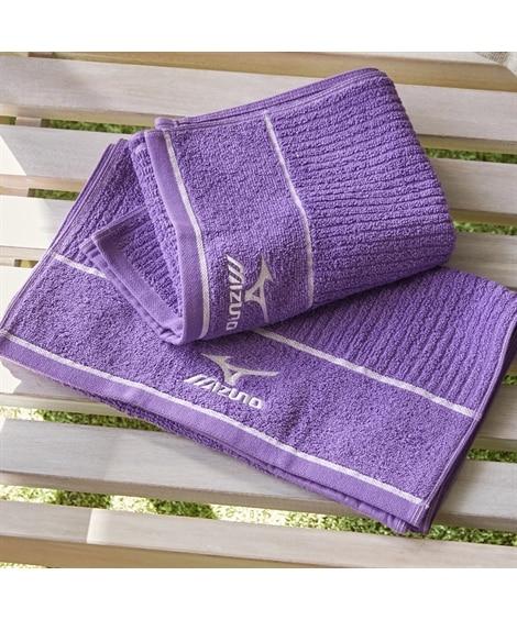 【ミズノ】 フェイスタオル同色2枚セット K8026 タオル, Towels(ニッセン、nissen)