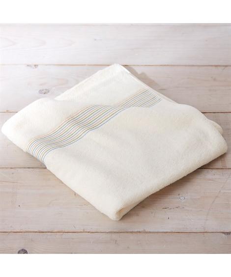 アースカラー 大判バスタオル  140cm丈 バスタオル, Towels(ニッセン、nissen)