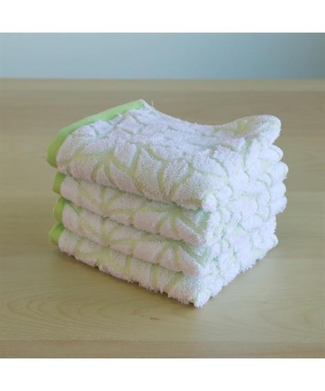 【お買い得】吸水速乾 優しい手ざわりのフェイスタオル同色4枚セット フェイスタオル, Towels(ニッセン、nissen)