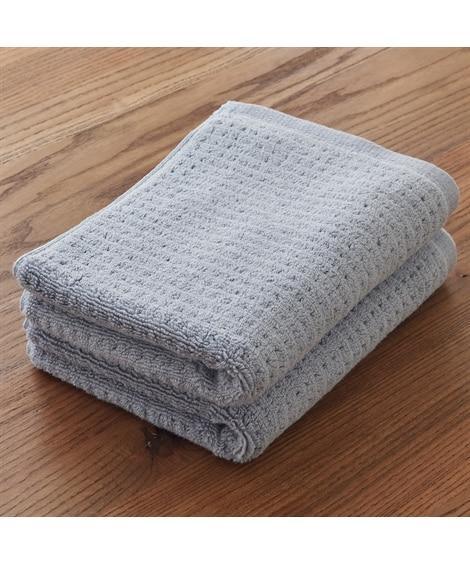 ホテルタイプ しっかり拭きごこちのフェイスタオル 同色2枚セット フェイスタオル, Towels(ニッセン、nissen)