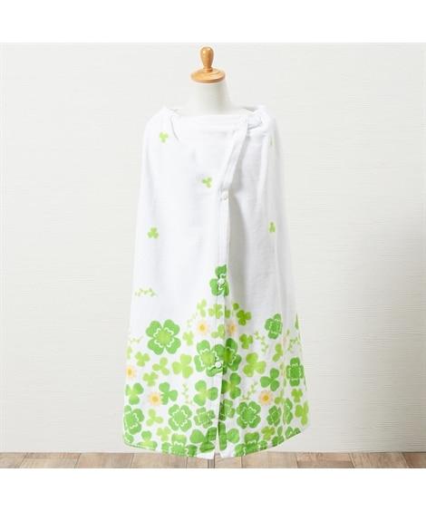 ハッピーライフクローバー 80cm丈ラップタオル タオル, Towels(ニッセン、nissen)