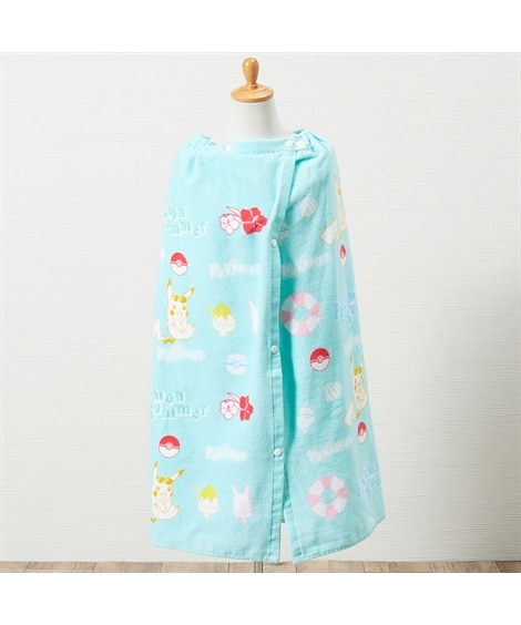 ポケモン 80cm丈ラップタオル タオル, Towels(ニッセン、nissen)
