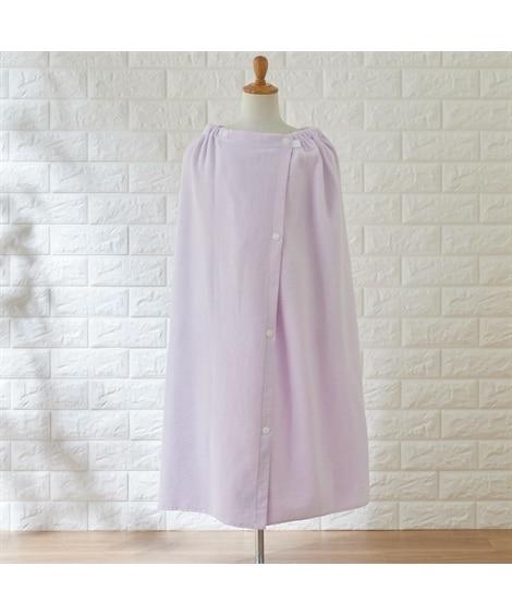 シャーリングカラー 80cm丈ラップタオル タオル, Towels(ニッセン、nissen)