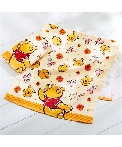ディズニー レトロなデザインのバスタオル同柄2枚セット(プーさん) バスタオル, Towels(ニッセン、nissen)