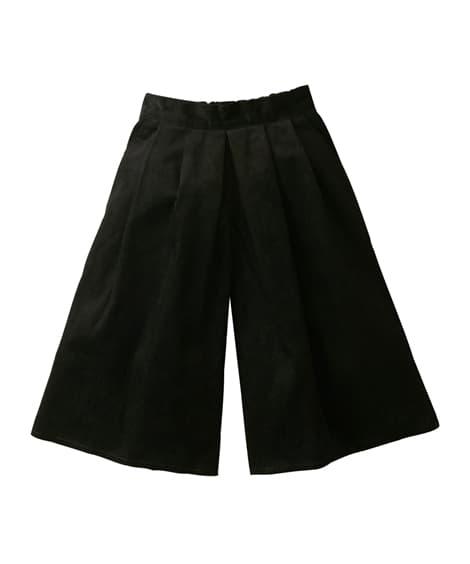 コーデュロイひざ丈スカーチョ(女の子 子供服 ジュニア服)