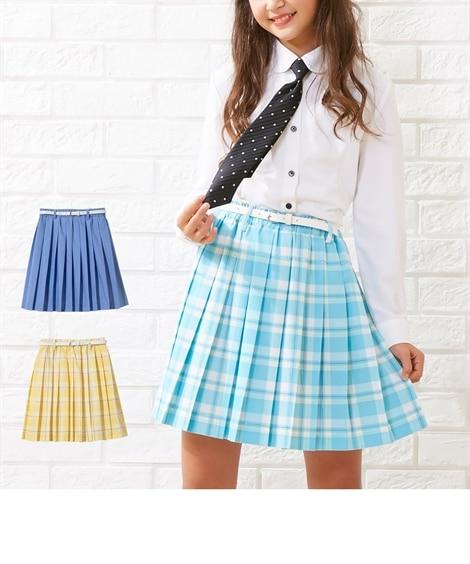 43638b9f2650b ...  卒業式 プリーツスカート(ベルト付)(女の子 子供服 ジュニア服 ...