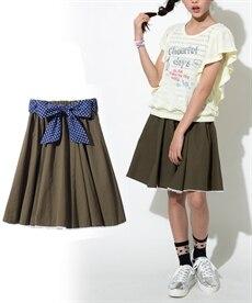 86a636d2a53bc グリーン ピンク 子供服 キュロット・スカート 通販 ニッセン  - 安く ...