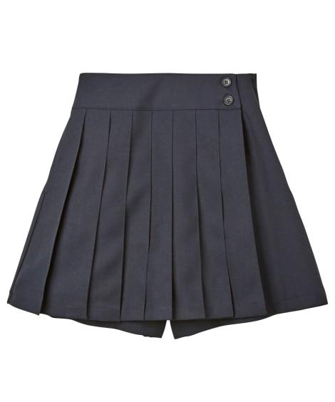 スクールプリーツキュロット(女の子 子供服 ジュニア服) 制...