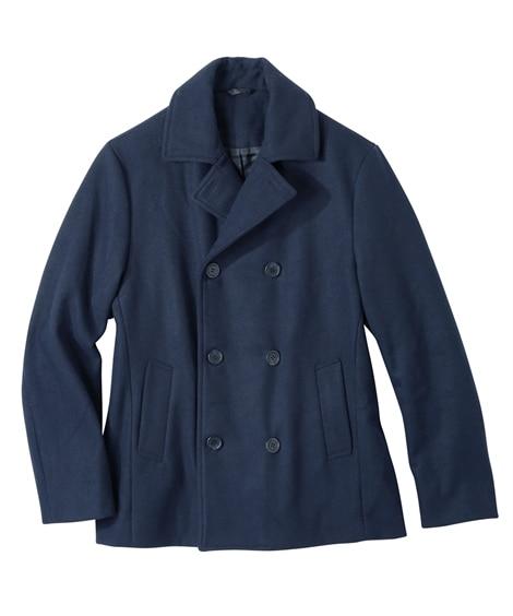 メルトンピーコート(袖。丈短めサイズ) コート, Coat,...