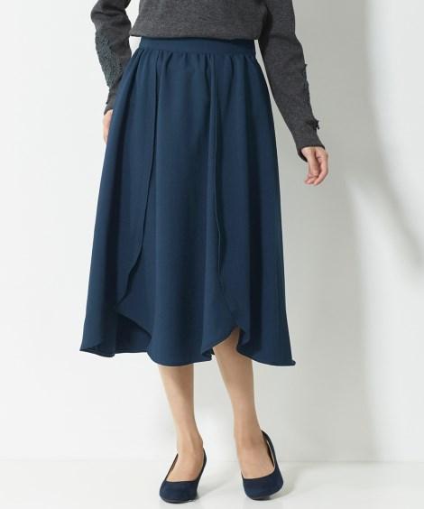 切替デザインスカート(オトナスマイル) (大きいサイズレディ...