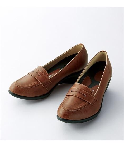 リゲッタ 5cmヒール アーモンドローファー(R-57)