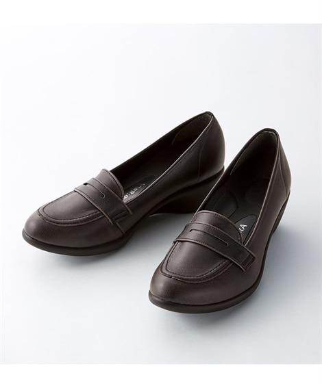 リゲッタ 5cmヒール アーモンドローファー(R-57) シ...