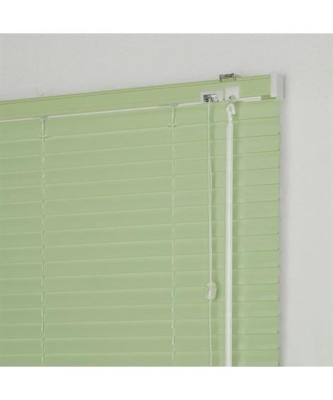 【1cm単位オーダー】突っ張り式アルミブラインド(浴室タイプ...