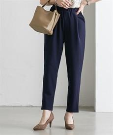 <ニッセン>カットソー9分丈テーパードパンツ(セットアップ対応) (レディースパンツ)Pants 1