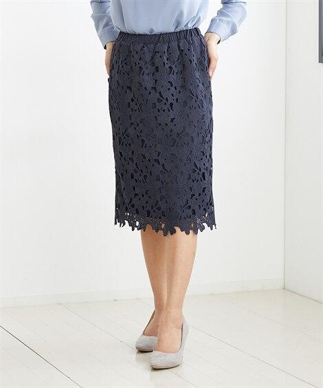 小さいサイズ レースタイトスカート 【小さいサイズ・小柄・プ...