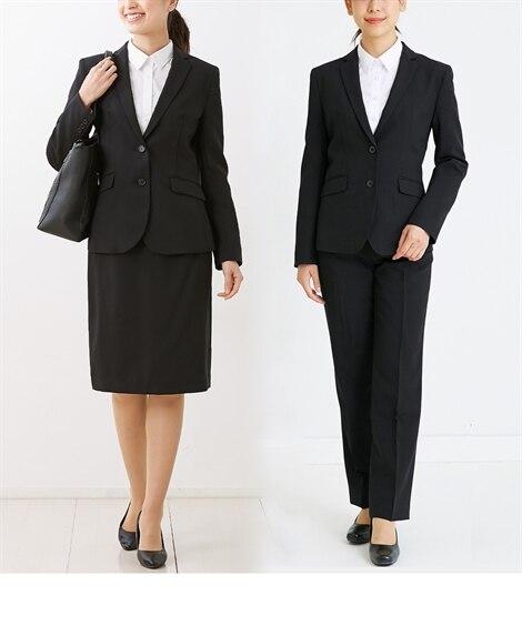 5f034c7c95 ベーシック就活リクルート3点セットスーツ(テーラードジャケット+タイトスカート+パンツ)