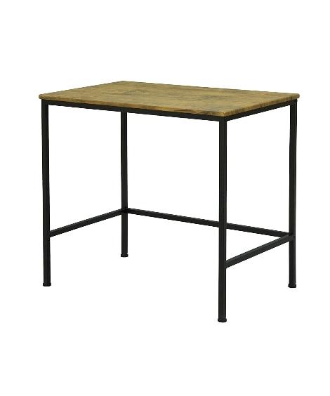 """""""大人ヴィンテージな空間に""""木製×ブラックスチールのデスク デスク・机・ワークテーブルと題した写真"""