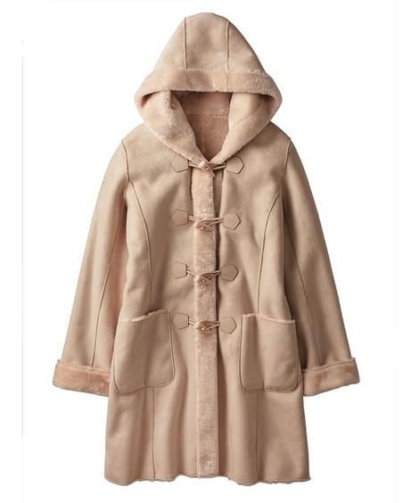 エコムートンダッフルコート (コート)(レディース)Coat...