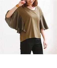 <ニッセン> チュールアコーディオンプリーツロングスカート (ロング丈・マキシ丈スカート)skirt 12