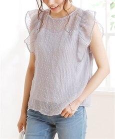 <ニッセン> 綿100% バイオシルケット袖ねじりプルオーバー (Tシャツ・カットソー)(レディース)T-shirts 9