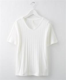 <ニッセン>楽ちんカットソー素材 ウエストベルト付きワンピース (ワンピース)dress 4