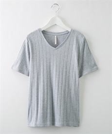 <ニッセン>楽ちんカットソー素材 ウエストベルト付きワンピース (ワンピース)dress 7
