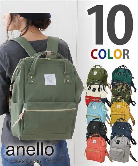 anello(アネロ)口金リュック(A4対応)【レギュラーサ...
