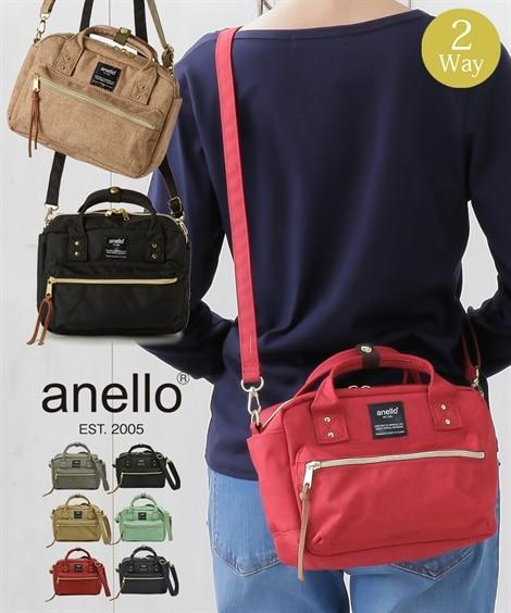 anello(アネロ) 2WAYミニショルダーバッグ ショル...