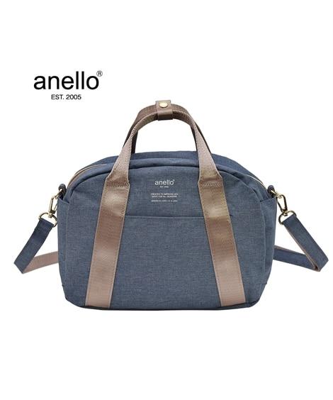 anello(アネロ)杢調ミニボストン型2WAY10ポケット...