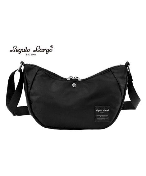 Legato Largo(レガートラルゴ)はっ水バナナ型ショルダーバッグ ショルダーバッグ・斜め掛けバッグ