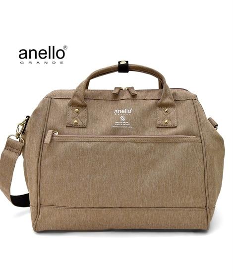 anelloGRANDE(アネログランデ)はっ水杢調口金2WAYショルダーバッグ(A4対応) ショルダーバッグ・斜め掛けバッグ, Bags