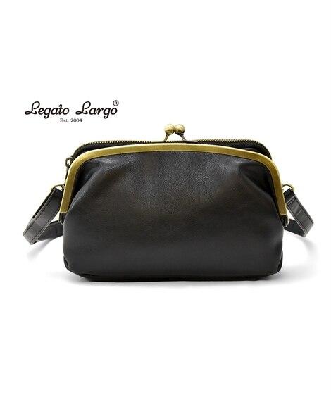 Legato Largo(レガートラルゴ)がま口お財布ショル...