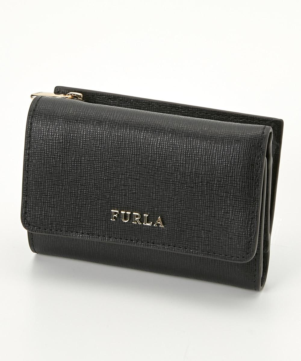 online retailer 75239 8b340 FURLA(フルラ) 三つ折り財布 PR76 B30 872817 ONYX