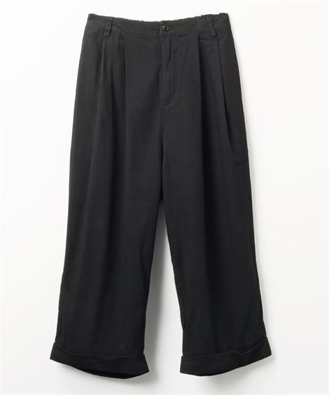 ボトルラインワイドパンツ (レディースパンツ)Pants
